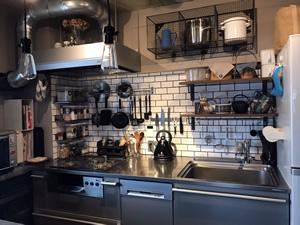 キッチンはトーヨーキッチンスタイルの「BAYシリーズ」をセレクト